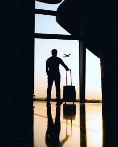 international travel has slumped